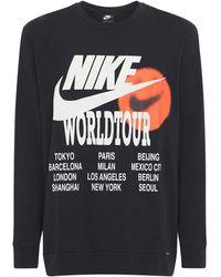 """Nike T-shirt Imprimé """"world Tour"""" - Noir"""