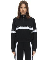 Fila Sweat-Shirt En Nylon Avec Logo - Noir