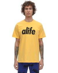 Alife 23 Core Logo T-shirt - Yellow
