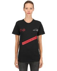 Still Good Champion Higher Cotton Jersey T-shirt - Black
