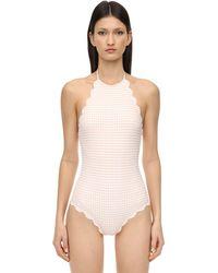 Marysia Swim Mott Maillot One Piece Swimsuit - Pink
