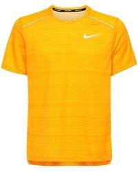 "Nike T-shirt ""dri-fit Miler"" - Orange"