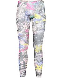 DSquared² - Manga Printed Sheer Leggings - Lyst