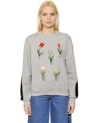 Steve J & Yoni P - Embroidered Cotton Sweatshirt - Lyst
