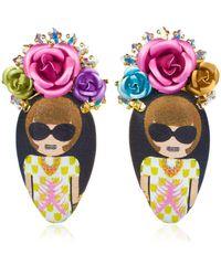 Bijoux De Famille - Anna Rosary Earrings - Lyst