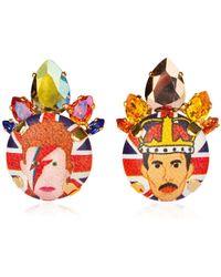 Bijoux De Famille - Bowie & Queen Earrings - Lyst