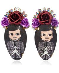 Bijoux De Famille - Coco Rosary Earrings - Lyst