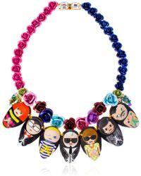 Bijoux De Famille - Dia De Los Muertos Necklace - Lyst