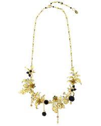 Les Nereides - Vegetation Doree Necklace - Lyst