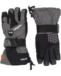 Level Half Pipe Gore-tex Snowboard Gloves - Gray