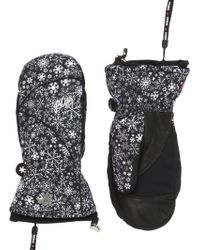 Level - Bliss Mummies Printed Ski Mittens - Lyst