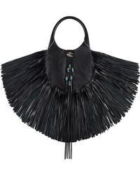 Barbara Bonner - Small Lilith Leather Bag W/beads - Lyst
