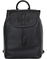 Tory Burch - Harper Leather Backpack - Lyst