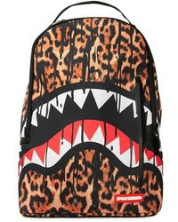 Sprayground - Leopard Drips Printed Backpack - Lyst