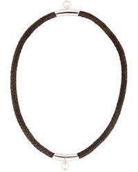 Betony Vernon - Noble Rope Choker For Lvr - Lyst