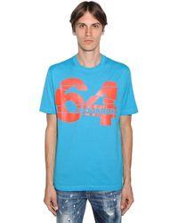 DSquared² - コットンジャージーtシャツ - Lyst