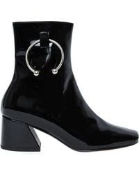 Dorateymur - 50mm Pierce Patent Leather Ankle Boots - Lyst