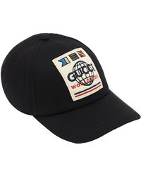 "Gucci Baseball-Cap ""Worldwide Cap"" - Schwarz"