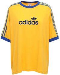adidas Originals 70s 3 Stripes ジャージーtシャツ - マルチカラー