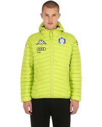 Kappa Fisi Italian Ski Team Primaloft Jacket - Green