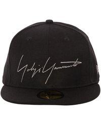 Yohji Yamamoto 59fifty New Era Baseball Hat - Black