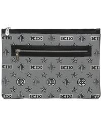 KTZ   Monogram Jacquard Zippered Pouch   Lyst