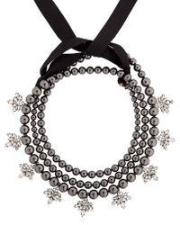 Ellen Conde - Brilliant Jewellery Black Pearl Necklace - Lyst