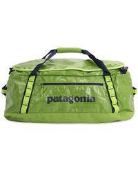 Patagonia 55l Black Hole Duffle Bag - Green