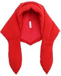 Ienki Ienki Hustka Down Hood - Red