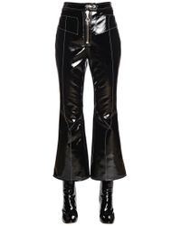 Ellery - Stretch Faux Patent Leather Pants - Lyst