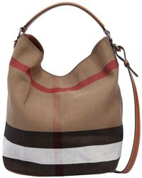 c395eaaa4156 Burberry Ashby - Women s Burberry Ashby Bags - Lyst