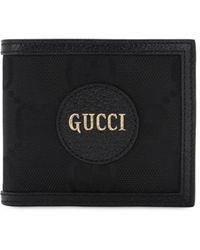 Gucci Бумажник Off The Grid С Узором GG Supreme - Черный