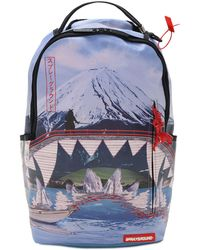 "Sprayground Rucksack Mit Samurai ""sacred Mountain"" - Mehrfarbig"