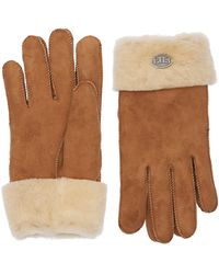 Parajumpers Woman's Shearling Gloves - Brown