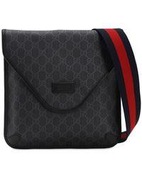 Gucci Gg Supreme Crossbody Bag - Schwarz
