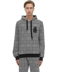 Dolce & Gabbana Свитшот Их Хлопка С Капюшоном - Серый