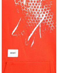 Vans Толстовка X Wtaps - Красный