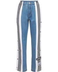 "adidas Originals Pantalones ""adibreak"" De Denim - Azul"