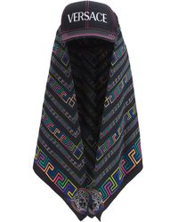 Versace Кепка С Платком - Черный