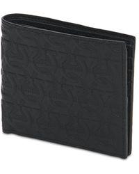 Ferragamo Кожаный Кошелек С Логотипом - Черный