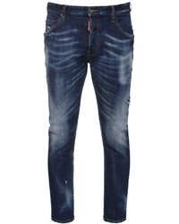 "DSquared² 16cm Jeans Aus Baumwolldenim ""skater"" - Blau"