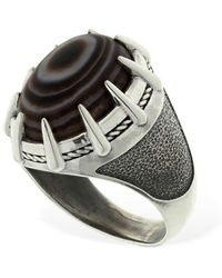 "Cantini Mc Firenze Ovaler Ring ""tibetan"" - Mettallic"