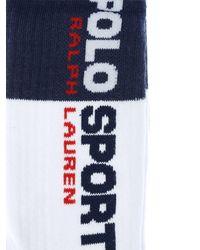 """Polo Ralph Lauren Baumwollsocken """"polo Sport"""" - Blau"""