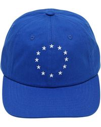 Etudes Studio - Europe Embroidered Cotton Baseball Hat - Lyst