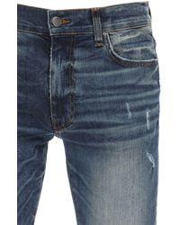 """Amiri 15cm Jeans Aus Baumwolldenim """"broken"""" - Blau"""