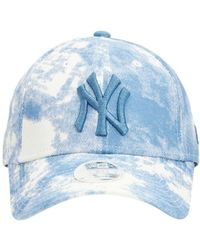 KTZ Casquette En Denim Mlb Ny Yankees 9forty - Bleu