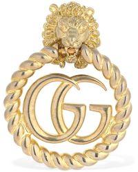 Gucci GG Clip-on Earring - Metallic