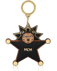 """MCM Charm De Sac """"star Lion"""" Avec Miroir - Noir"""