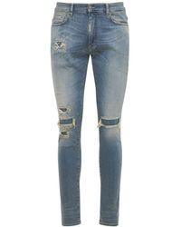 Represent Underwork Skinny Fit Denim Jeans - Blue