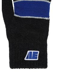 ADER error Handschuhe Aus Wolle Und Acryl - Schwarz
